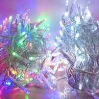 Χριστουγεννιάτικα λαμπάκια LED σε σειρά